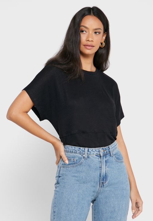 Drop Shoulder T-Shirt