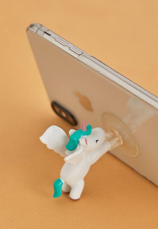 حامل الهاتف علي شكل وحيد القرن