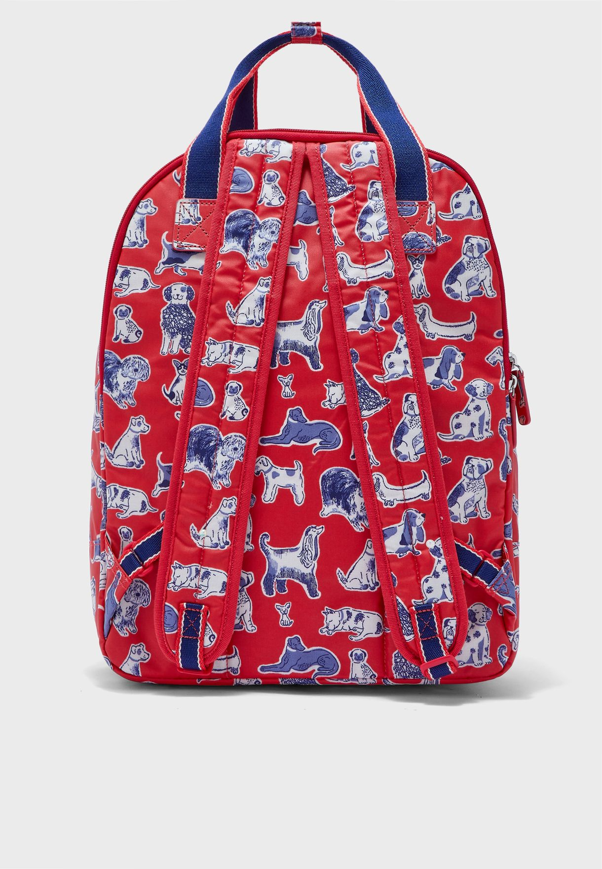 Squiggle Dogs Multi Pocket Backpack