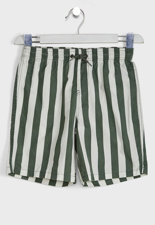 Kids  Striped Short