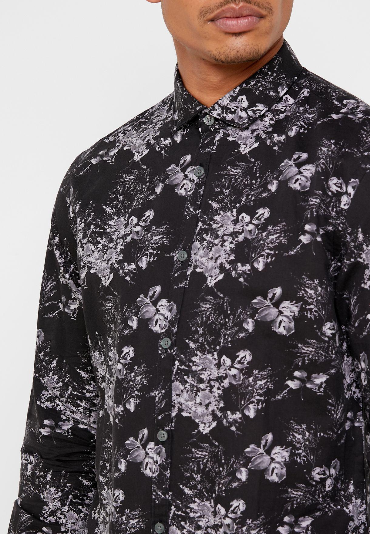 Clayton Floral Print  Shirt