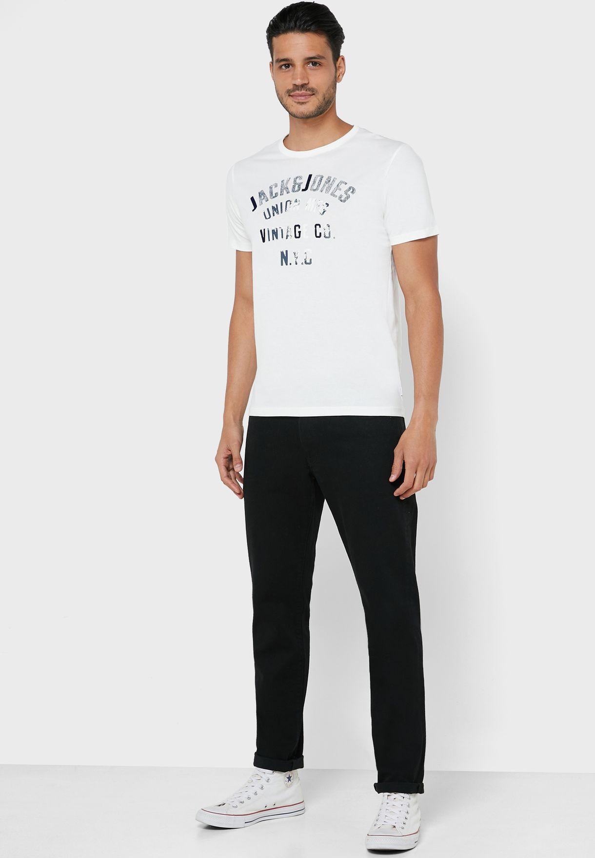 Seth Regular Fit Crew Neck T-Shirt