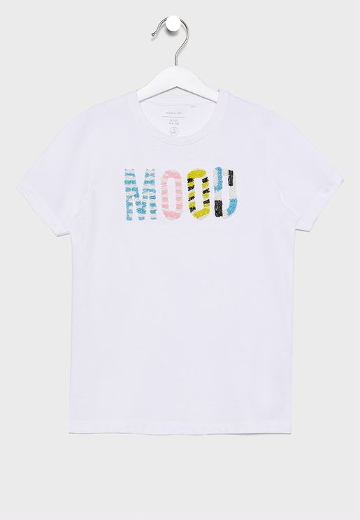 Youth Embroidered T-Shirt