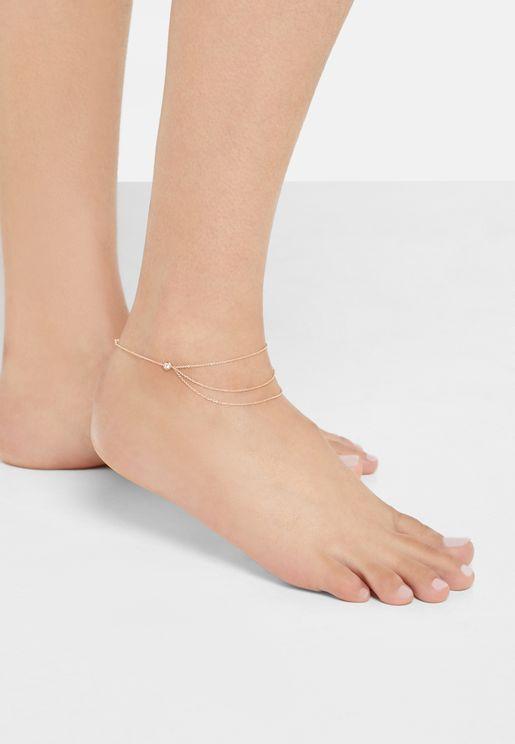 Terasa Multi Delicate Anklet
