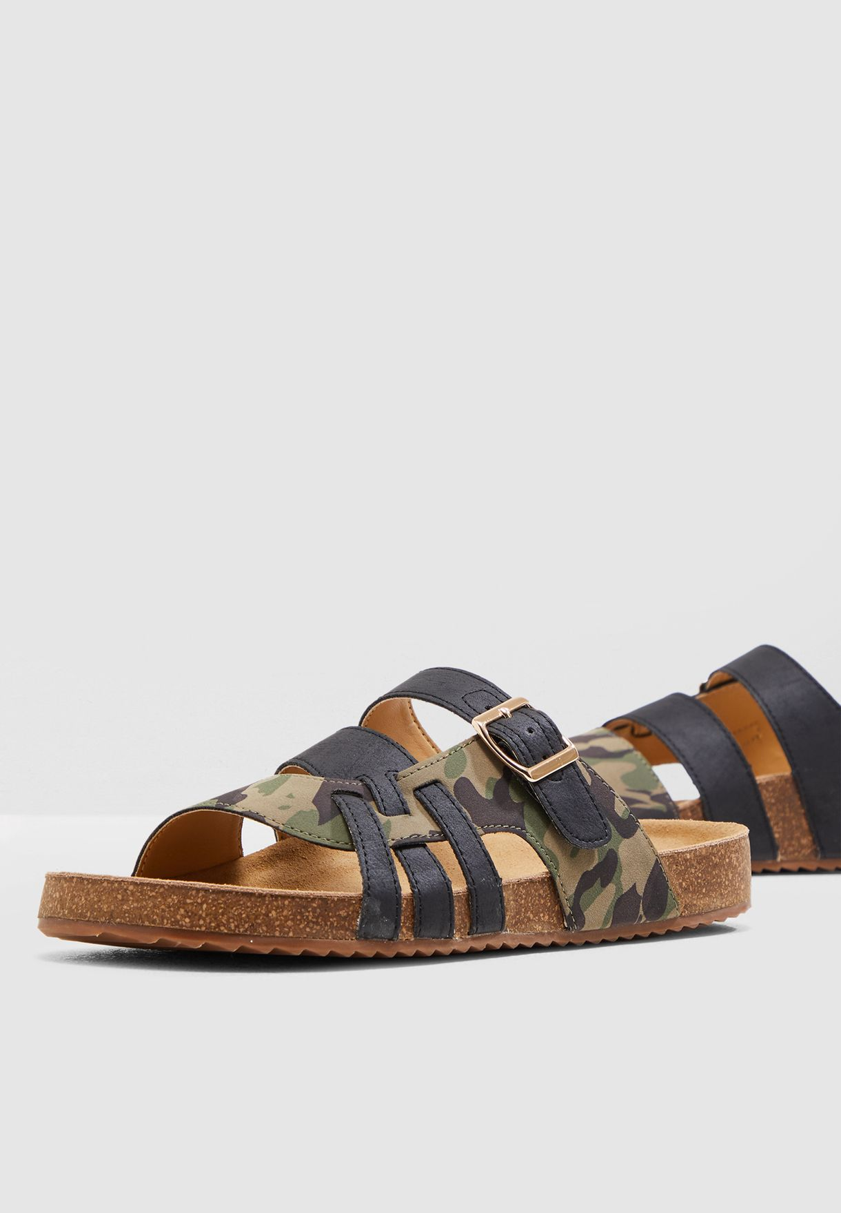Buckle Strap Sandal