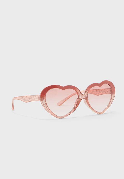 Transparent Retro Sunglasses