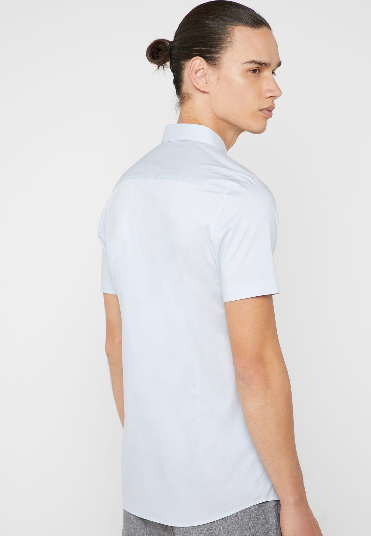 Stretch Skinny Fit Shirt