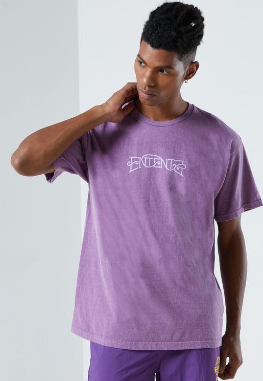 Tie-Dye Back Logo T-Shirt