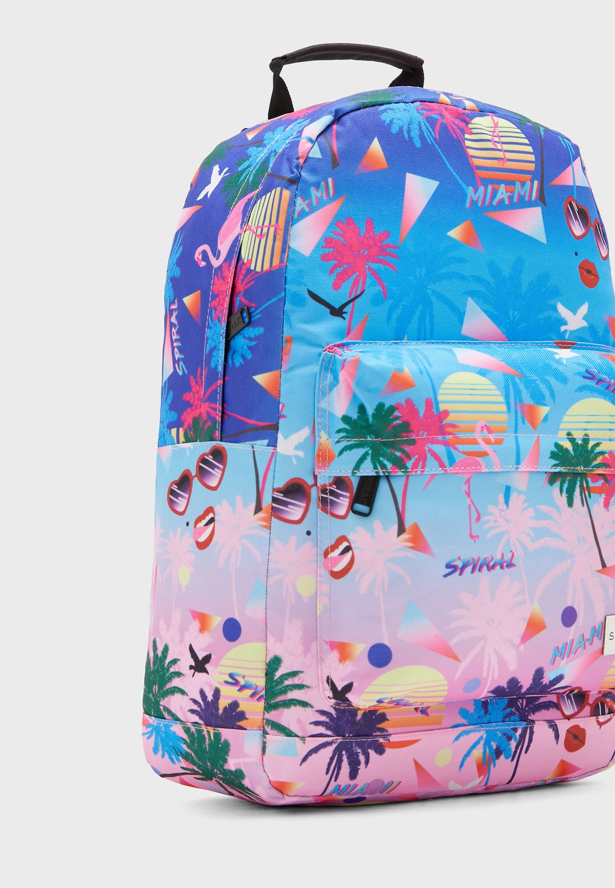 Miami Front Zip Pocket Backpack