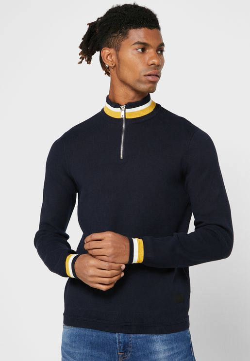 Robbie Half Zip Sweater