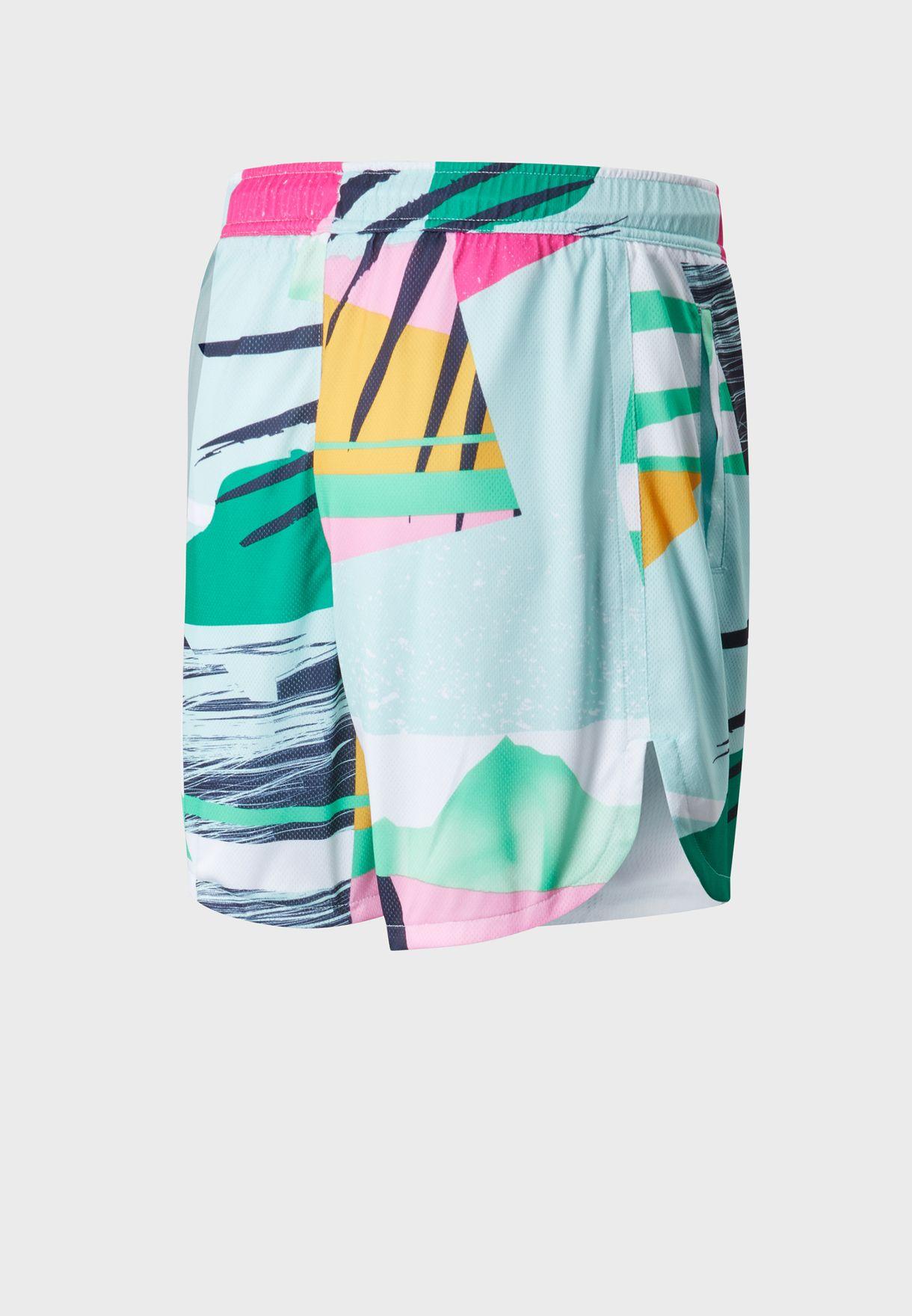 Athletics Tropics Mesh Shorts