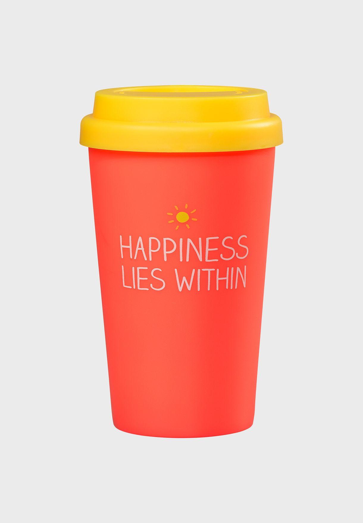 Happiness Lies Within Travel Mug