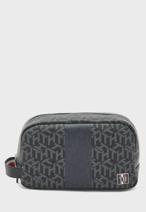 Modern Zip Around Wash Bag