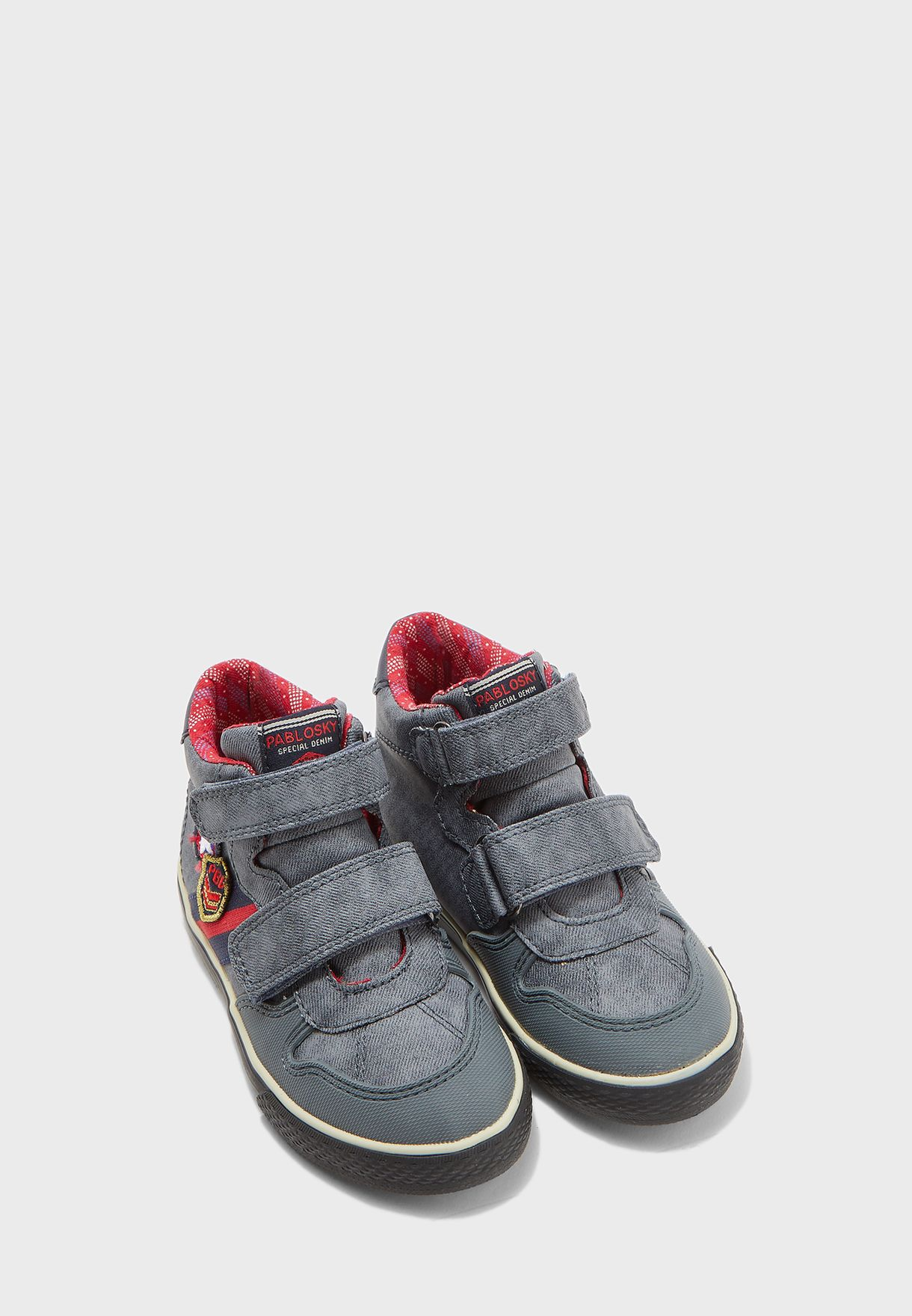 Youth Double Strap Sneaker