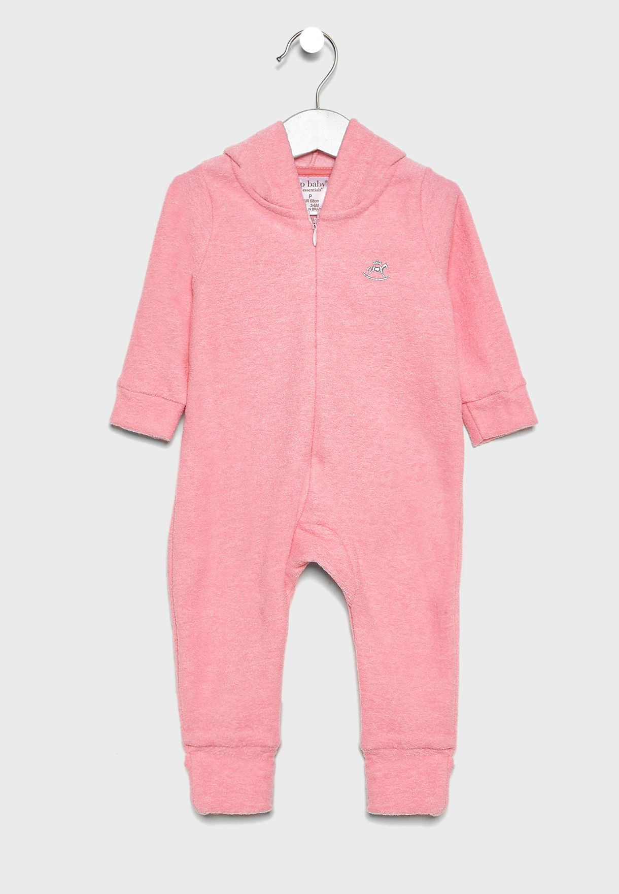 Kids Hooded Romper