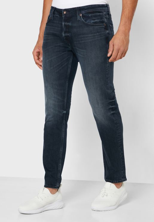 Mid Wash Denim Jeans