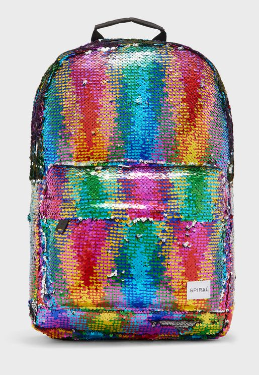 Charmed Sequins Backpack