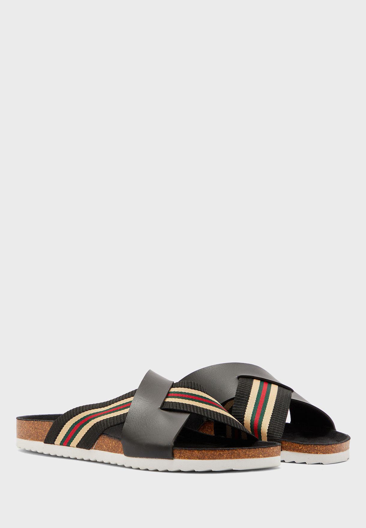 Cross Straps Sandals
