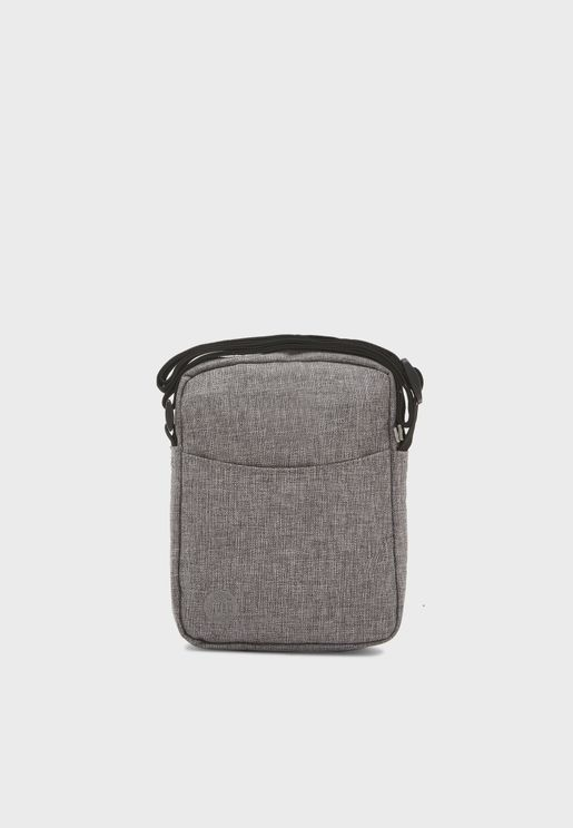 Crosshatch Flight Messenger Bag