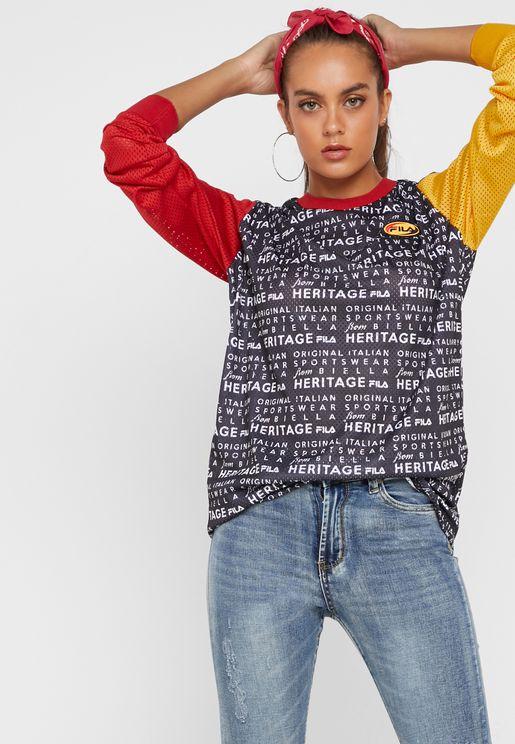 48ca03391a024 Fila T-shirts for Women | Online Shopping at Namshi UAE