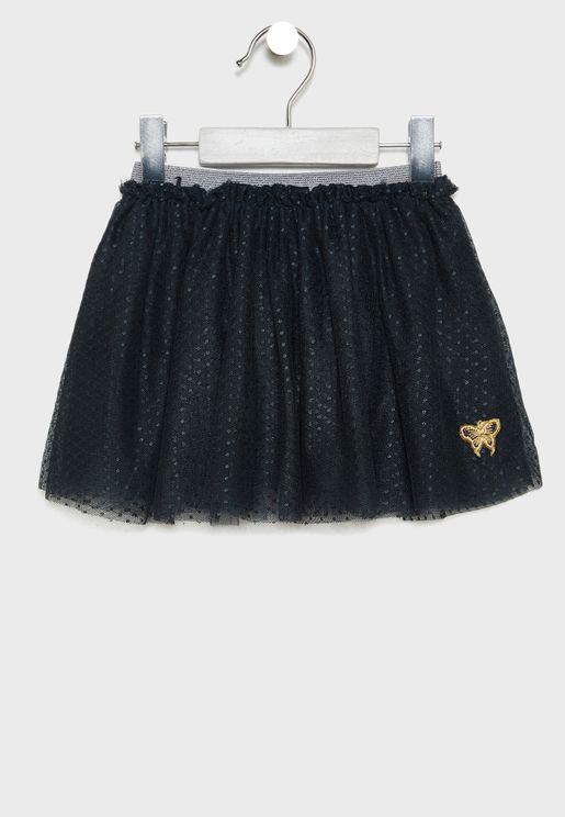 Kids Mesh Skirt