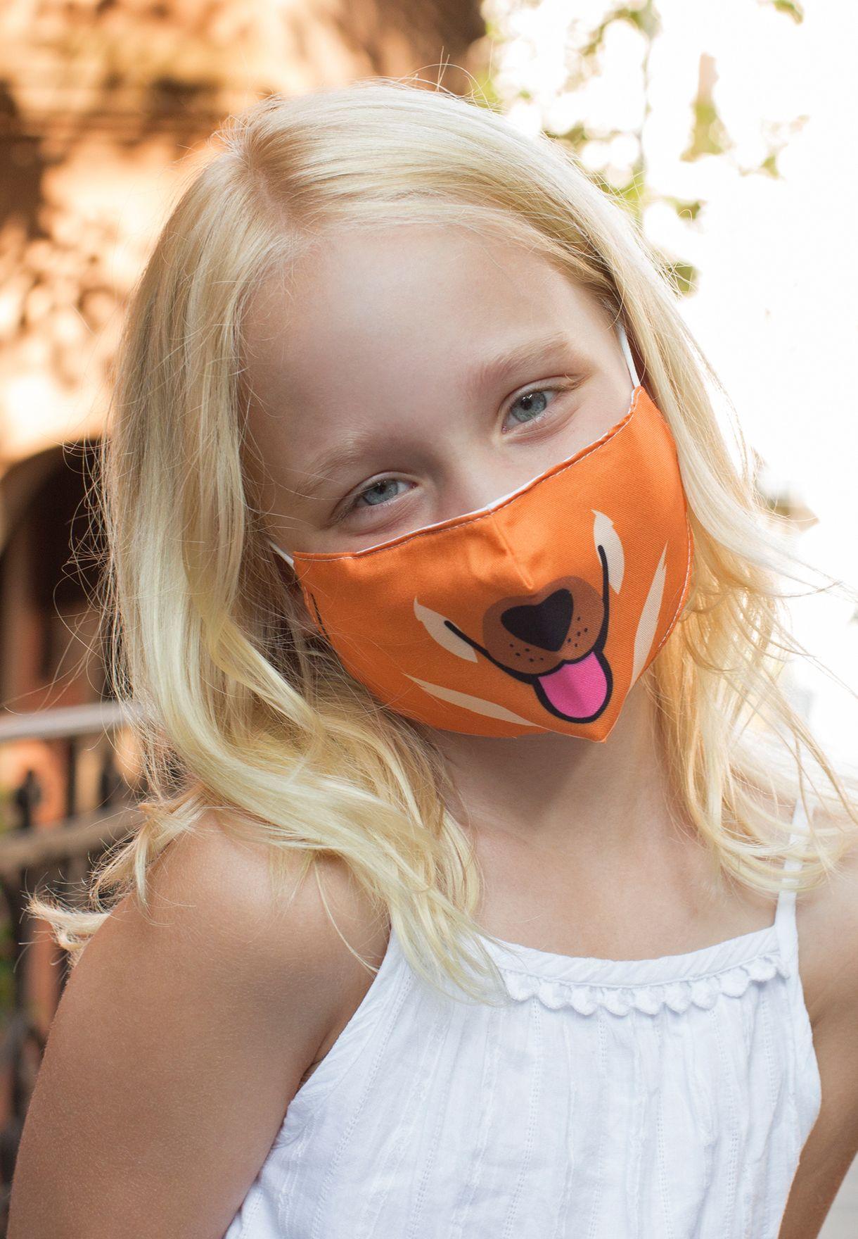 قناع وجه مطبع للاطفال
