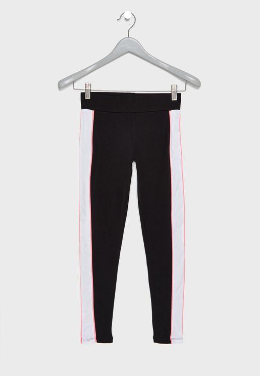 Teen Side Striped Leggings
