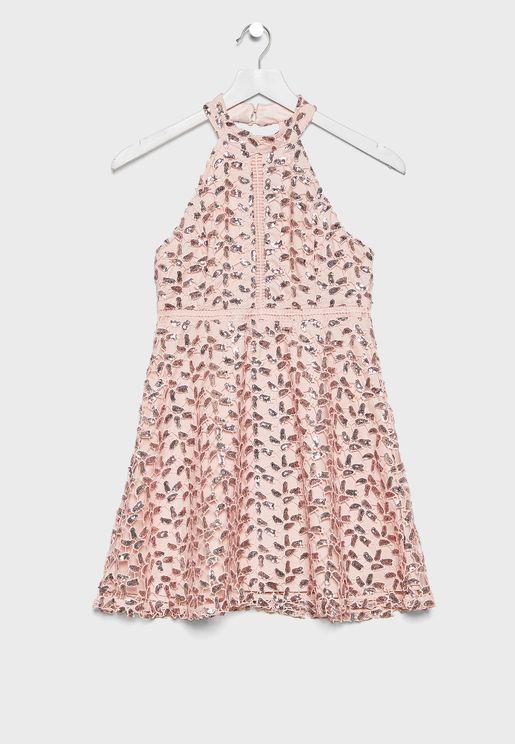 Kids Halter Neck Dress
