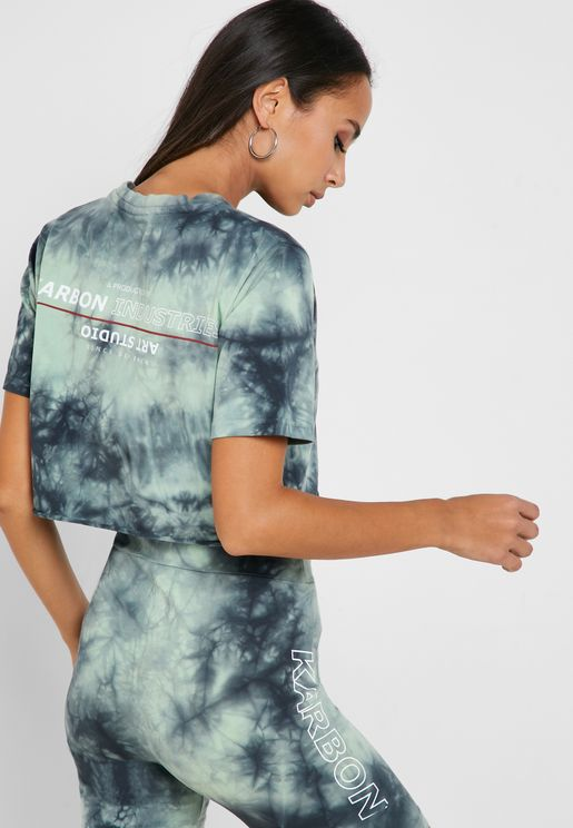 Palms Cropped T-Shirt
