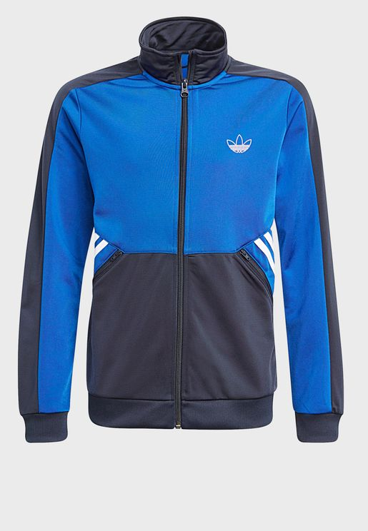 Youth Trefoil Track Jacket