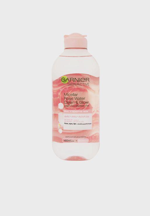 Garnier Micellar Rose Glow Cleansing Water