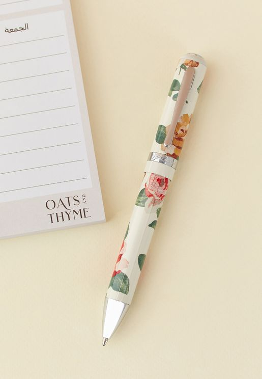 Chunky Floral Pen