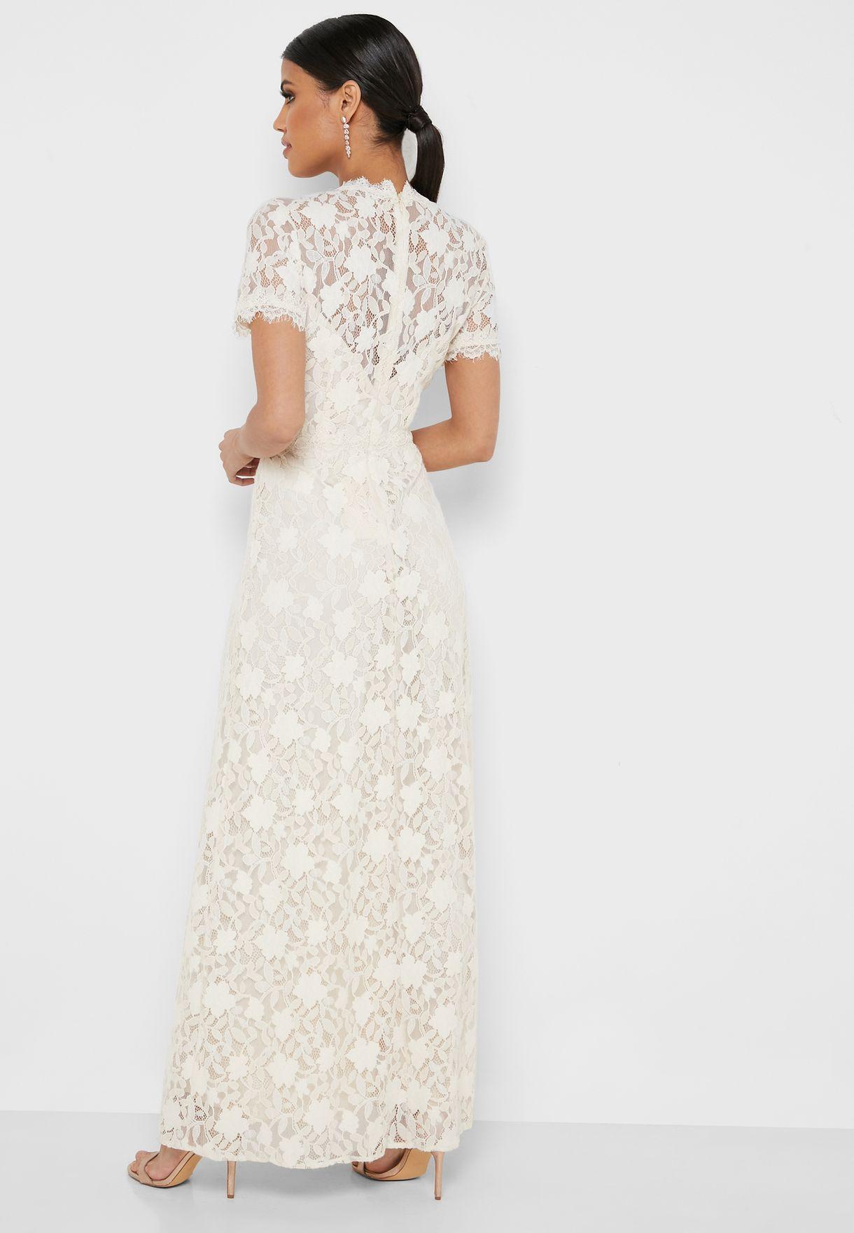 Lace High Dress