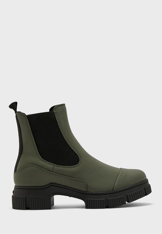Wniola3-A Low-Heel Ankle Boots