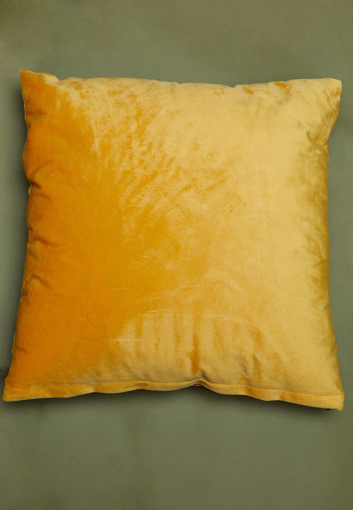 Velour Cushion With Insert 43x43cm