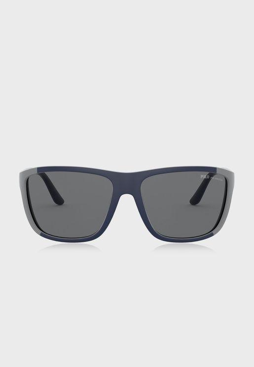 نظارة شمسية مربعة 0PH4155