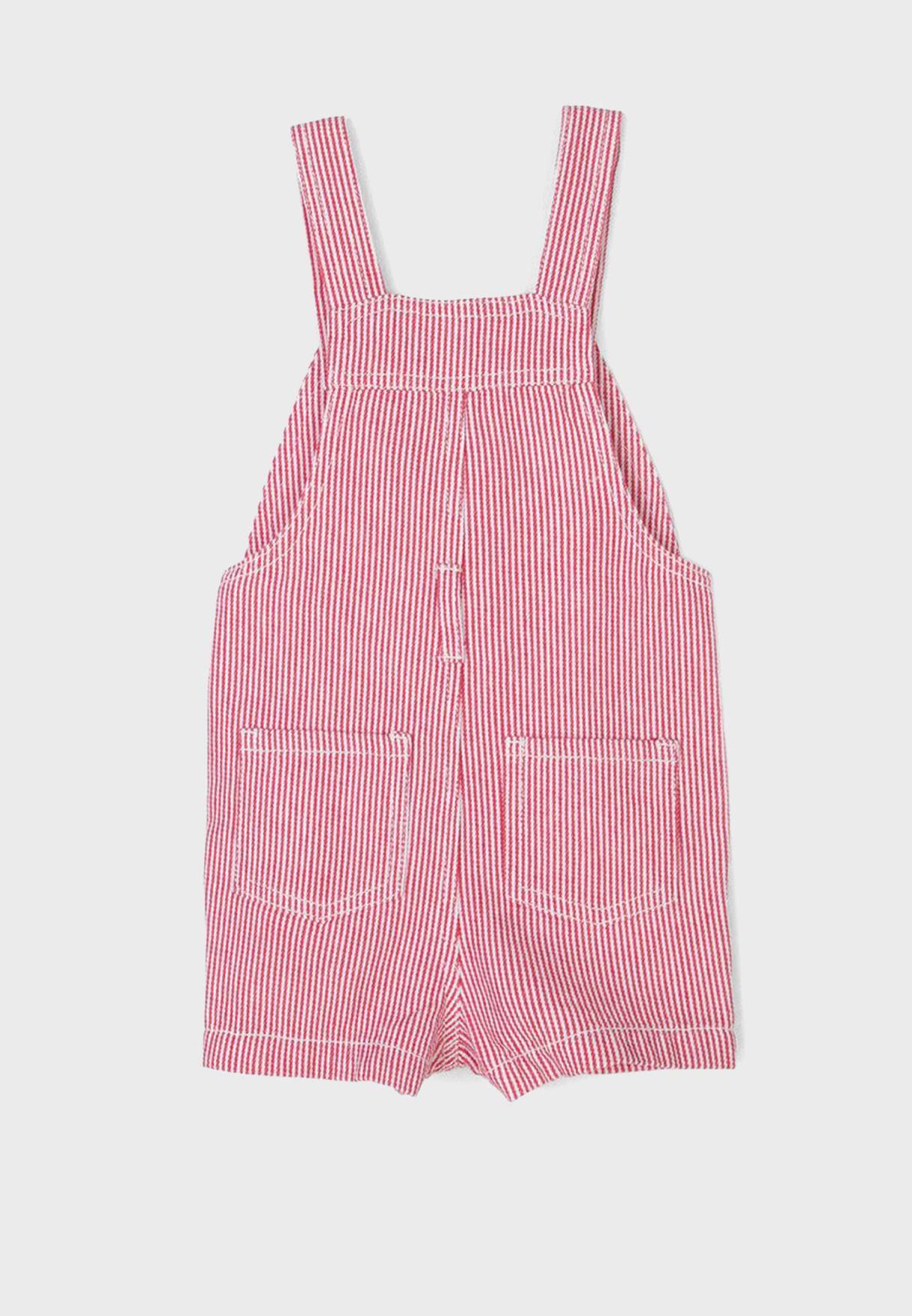 Infant Striped Playsuit