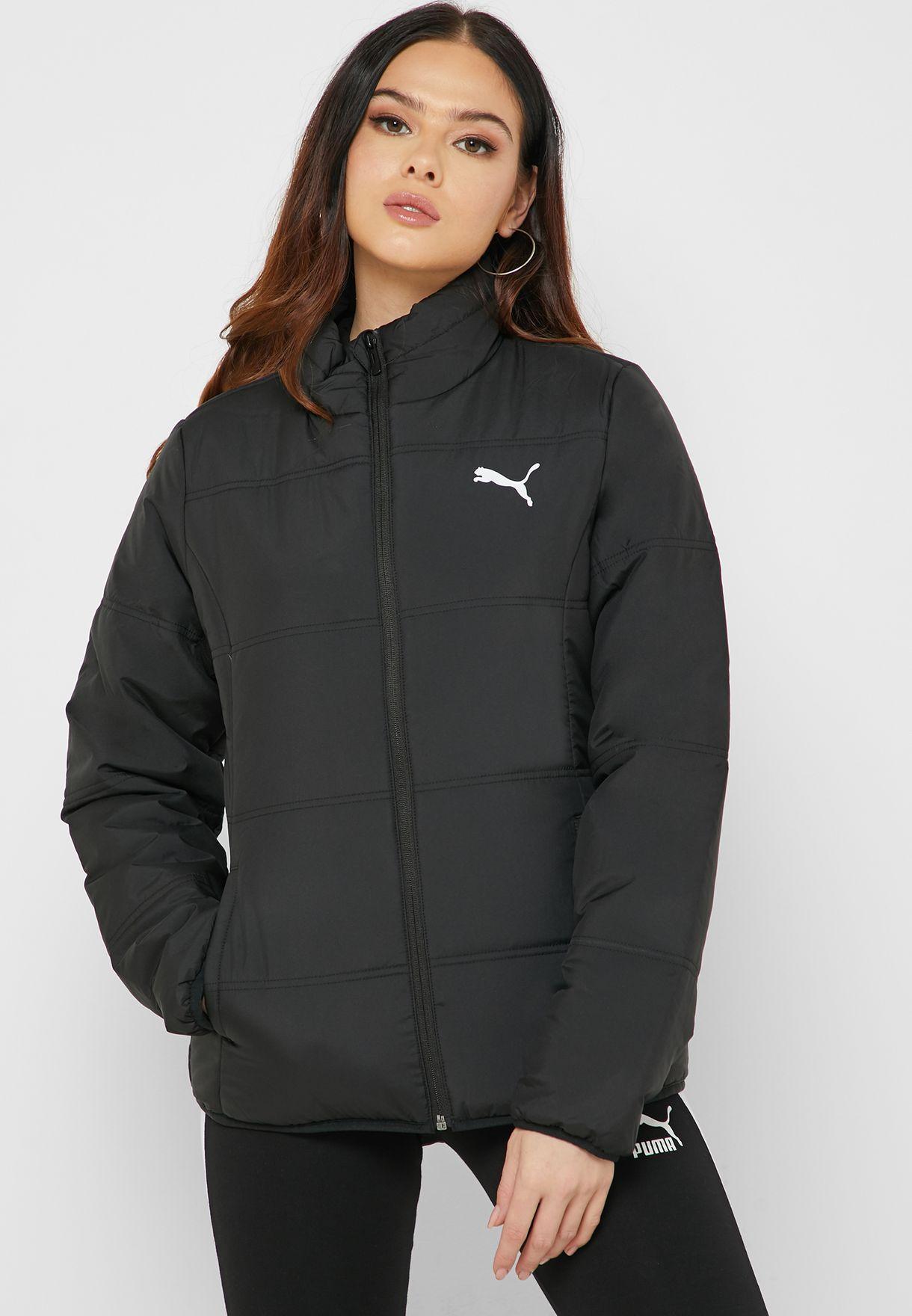 Oscurecer Ru Testificar  Shop PUMA black Essentials Padded Jacket 58003701 for Women in ...
