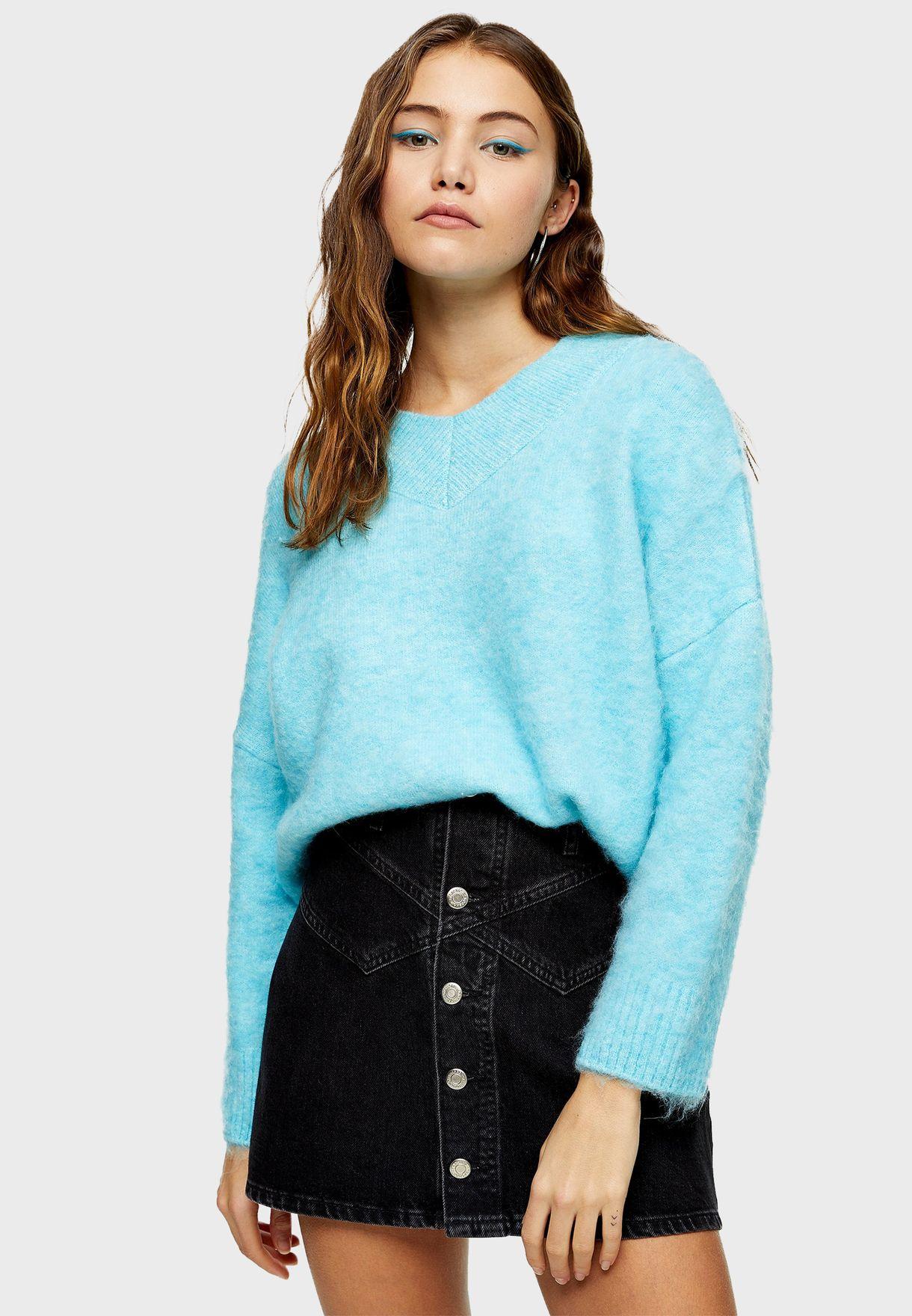 Longline Knitted Sweater