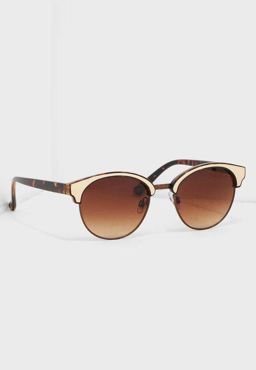 db9ed8e5d98 Tort Metal Top Sunglasses