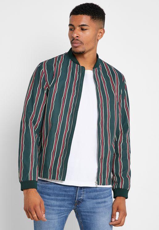 Sean Striped  Jacket