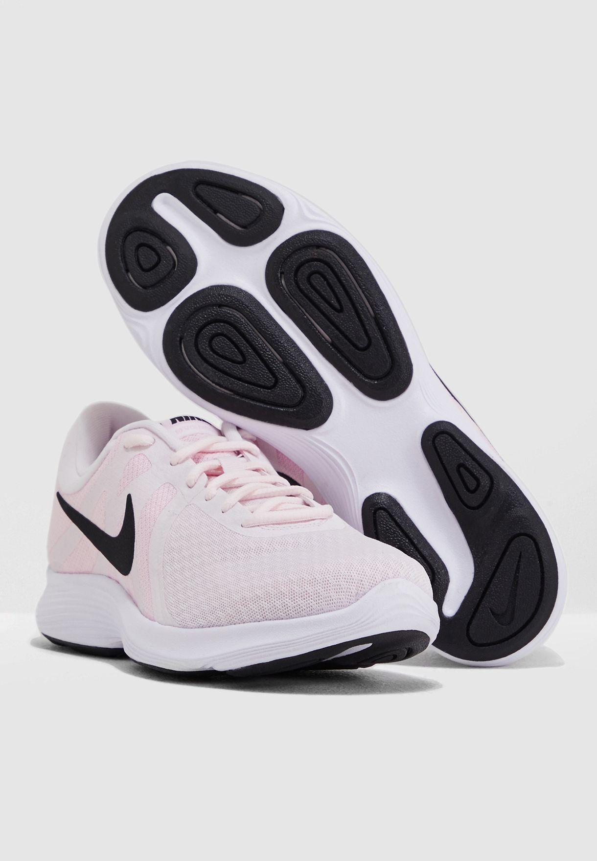 fb2922684 تسوق حذاء ريفولوشن 4 ماركة نايك لون وردي AJ3491-604 في السعودية ...
