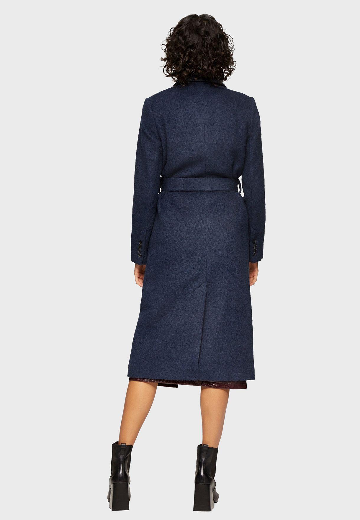 Belted Longline Coat
