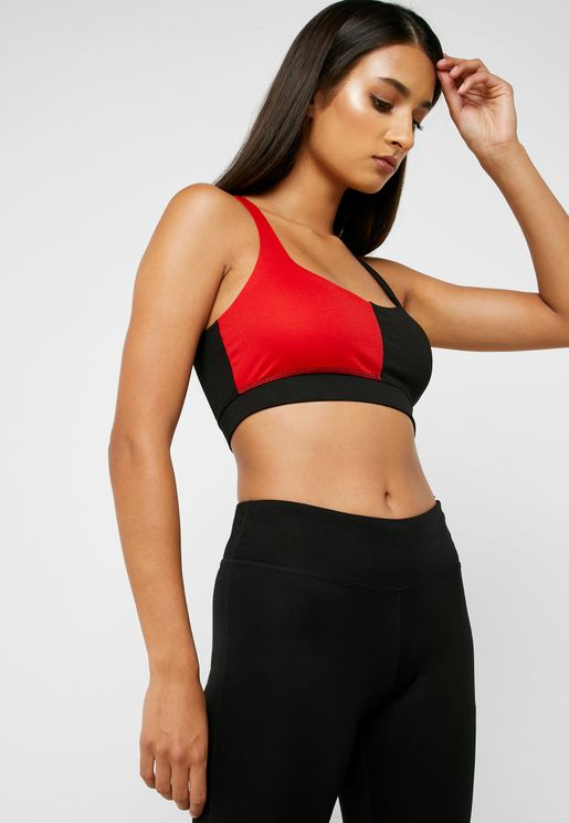 Colourblock Crop Top