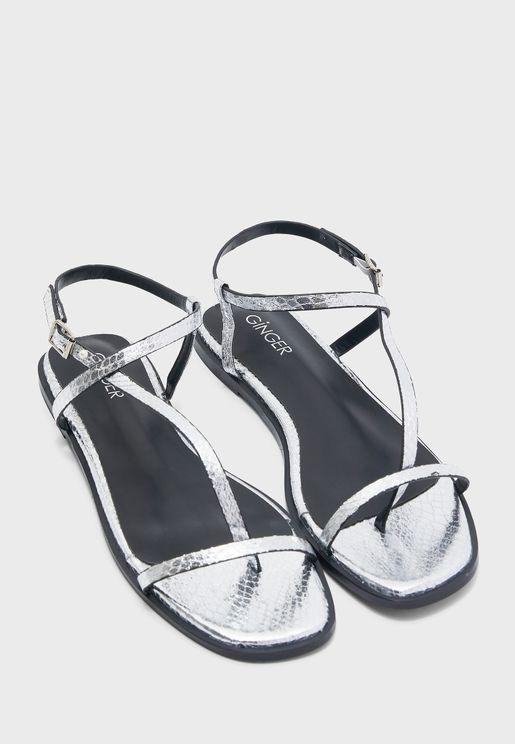Slim Strap Sandals