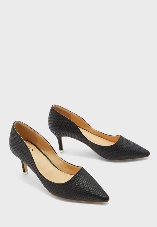 Adah Heeled Pumps