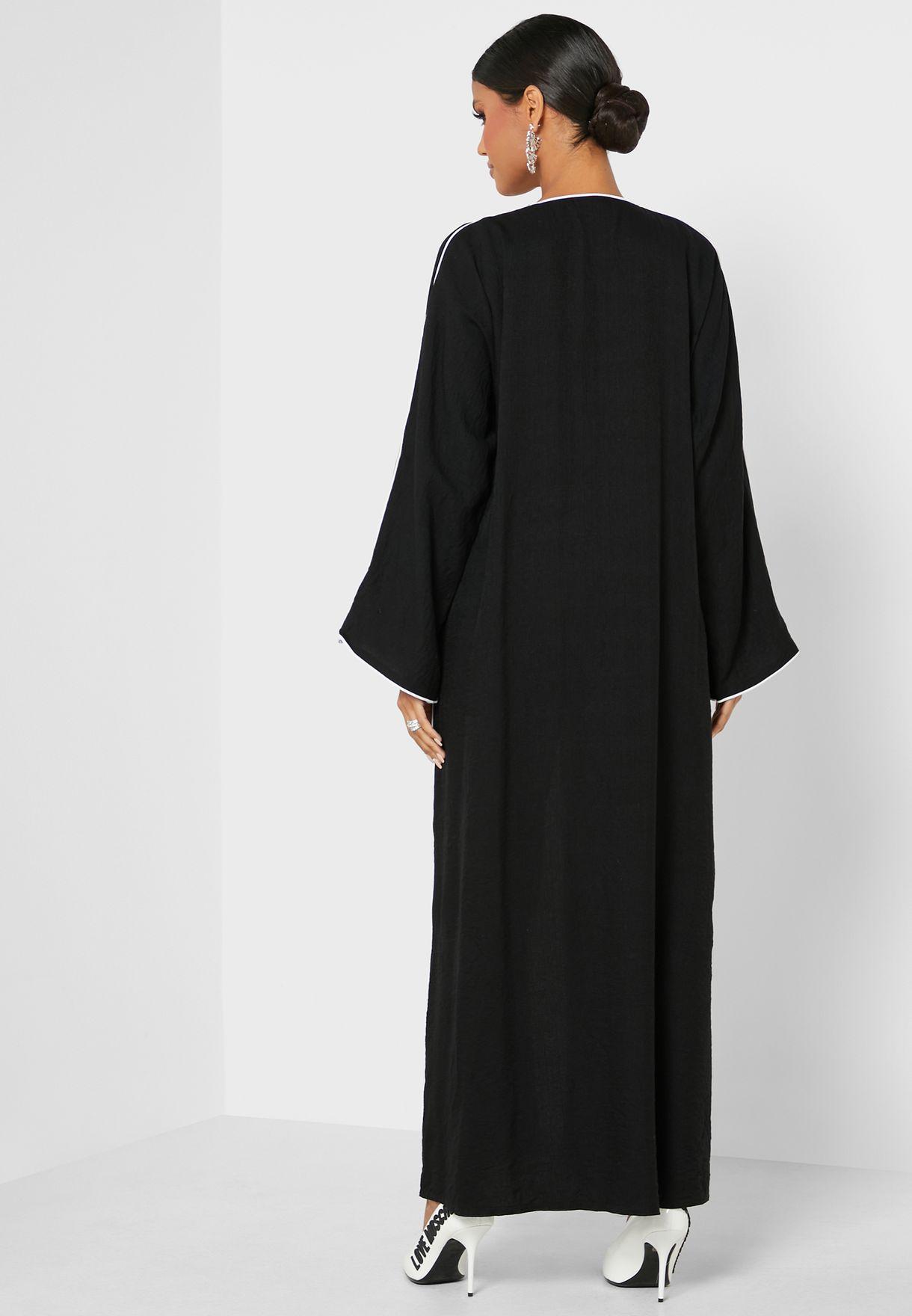 Piping Detail Abaya