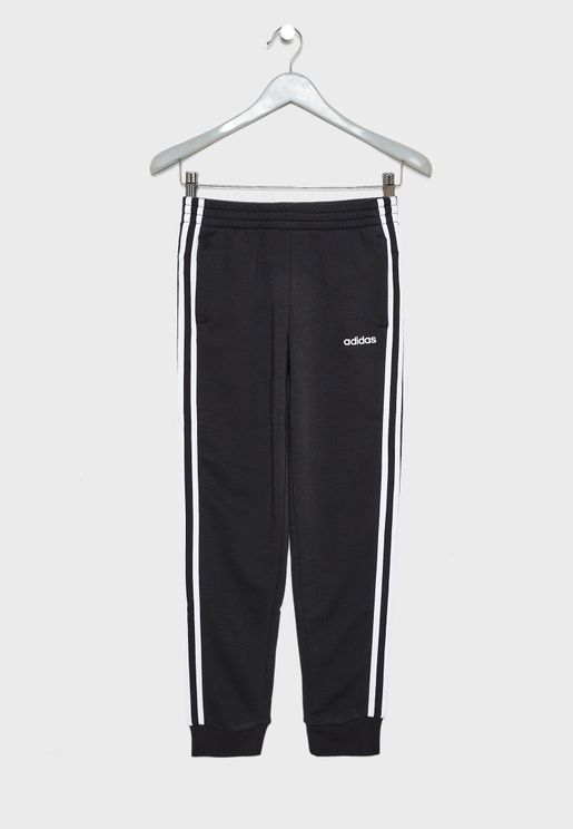Youth Essential 3 Stripe Sweatpants
