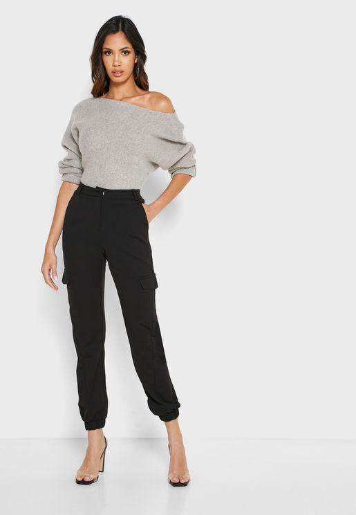 Side Pockets Pants