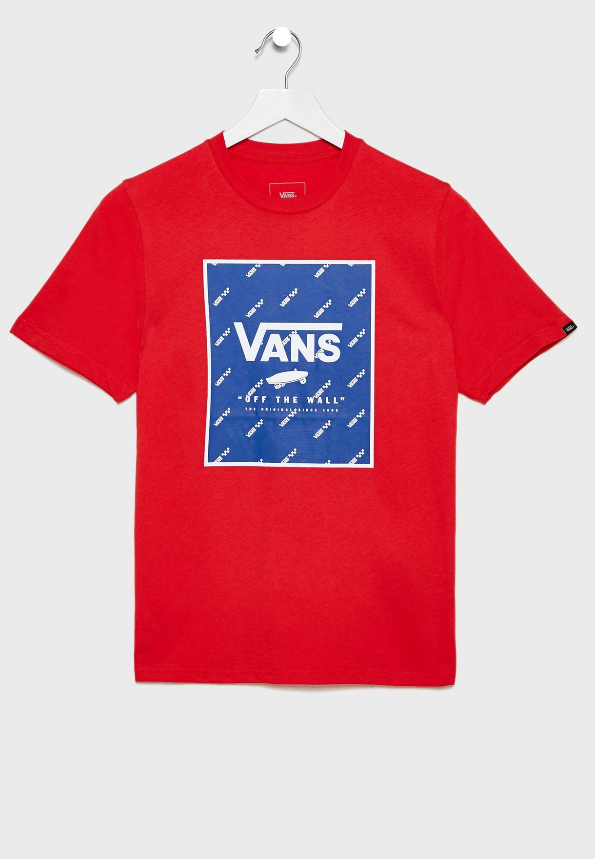 Youth Print Box T-Shirt